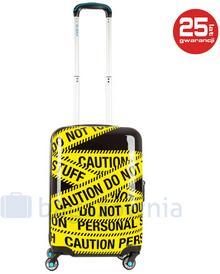 BG BERLIN Walizka mała kabinowa Caution URBE żółty / czarny