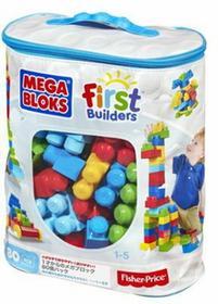 Mega Bloks KLOCKI 80 elementów torba 80 CYP72/DCH63