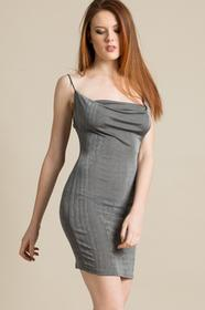 Missguided Sukienka DE908474 szary
