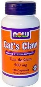Now Foods Cats Claw Koci Pazur 400mg 100 szt.