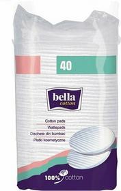 Bella Płatki kosmetyczne owalne duże Cotton 40szt.