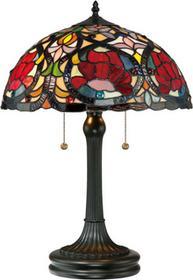 Elstead Lighting Lampa stołowa witrażowa TIFFANY LARISSA QZ/LARISSA/TL -