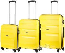 American Tourister zestaw walizek Bon Air - żółty
