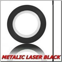 Taśma do zdobień - Matalic Laser Black - Czarna Metalik