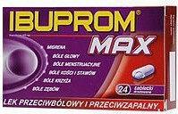 US Pharmacia Ibuprom Max 400mg 24 szt.