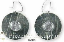 KOGATA - MURANO GLASS Kolczyki wiszące Kaziar MURANO GLASS KZ323