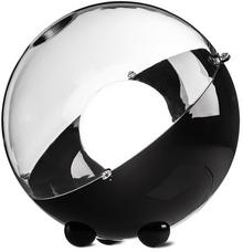 Koziol Lampa podłogowa ORION kolor czarny z transparentną pokrywą KOZIOL B01MSE5087