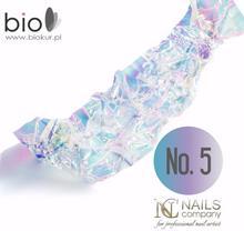 Nails Company Folia Glass Effect - efekt szkła nr 5 - - 1 szt