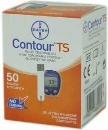 Bayer Contour TS 50szt