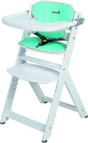 Safety 1st Timba Happy Woods krzesełko do karmienia z wkładką białe