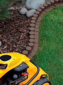 Prosperplast Palisada ogrodowa obrzeże 4,05m x 6cm Ciemny Brąz IPAL7 IIPAL7BR