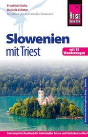 Schetar, Daniela Reise Know-How Slowenien mit Triest - mit 15 Wanderungen Schetar, Daniela