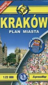 Kraków 1:22 000. Kieszonkowy plan miasta