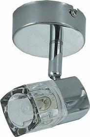 Candellux LAMPA ścienna Kinkiet spot OPRAWA kuchenna DIAMENT 91-19229 Chrom