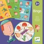 Djeco - Kartonowa Gra Bingo Pory Roku Dj08114