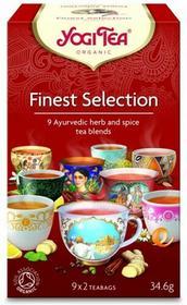 Yogi Tea HERBATKA EKSPRESOWA FINEST SELECTION (MIX HERBATEK) BIO (9 x 2 TOREBKI) 34,6 g -
