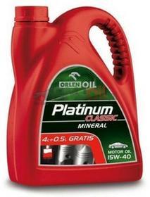 OrlenPLATINUM CLASSIC MINERAL 15W40 olej silnikowy 4.5L OL MINE-15W40-4.5