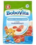 Nutricia BOBOVITA Kaszka mleczno-ryżowa o smaku truskawkowym po 6 m-cu -