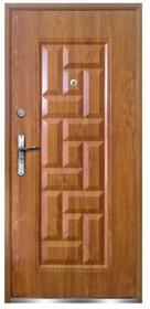 O.K. Doors Drzwi zewnętrzne stalowe Nata 80 prawe złoty dąb