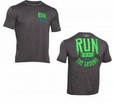 Under Armour T-Shirt HeatGearR Run Into Ground 1259814