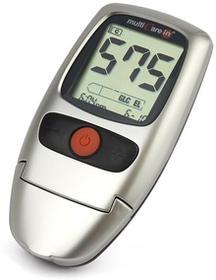 BSI MultiCareIn Urządzenie do pomiarów 3 w 1 do pomiarów glukozy, cholesterolu i trójglicerydów