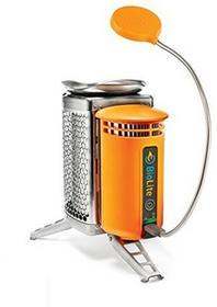 BioLite Camp Stove 006 6001110 kuchenka turystyczna z elastyczną lampką BL1