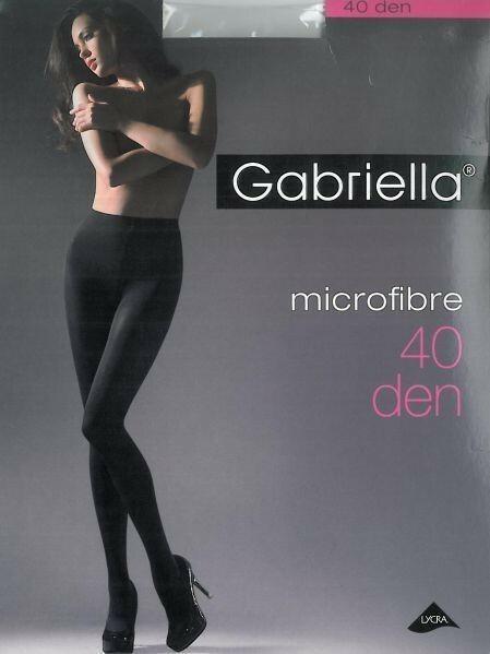Gabriella Rajstopy mikrofibra rozmiar 5 40 DEN - Rajstopy mikrofibra rozmiar 5 40 DEN Grey