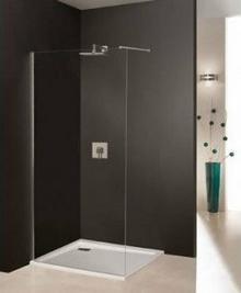 Sanplast Free Line - Wolnostojąca ścianka prysznicowa 100 x 195 600-260-0440-42-