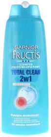 Garnier Fructis Total Clean Szampon z łupieżem 2w1 400 ml