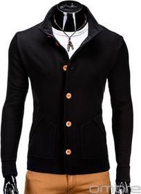 Ombre Clothing BLUZA CARMELO - CZARNA
