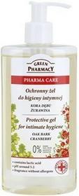 Green Pharmacy Pharma Care Oak Bark Cranberry żel ochronny do higieny intymnej 0