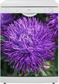 Oklejaj Naklejka na zmywarkę - Fioletowy kwiat 0050 - Naklejka