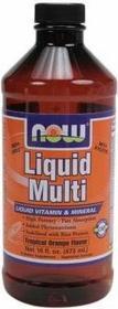 Now Foods Multi Liquid Multiwitamina wysoko przyswajalna