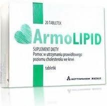 Rottapharm Armolipid 20 szt.