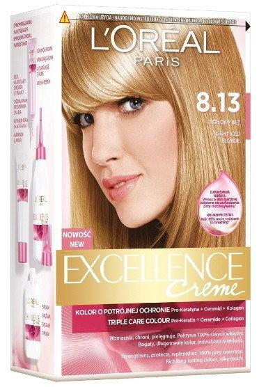 Loreal Excellence Creme 8.13 Perłowy Beż