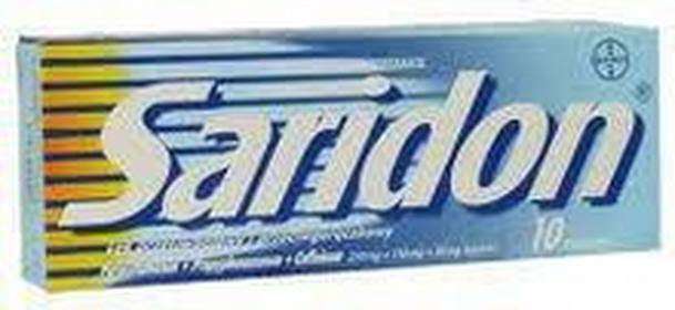 Bayer Saridon 250mg 10 szt.