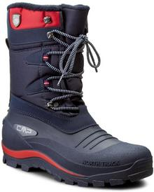 CMP śniegowce Nietos 3Q47867 Navy M870 tworzywo/-wysokogatunkowe tworzywo, materiał/-materiał, skóra ekologiczna/-skóra ekologiczna