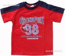 T-shirt dziecięcy Sporciak czerwony 92