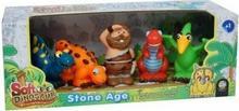 Dino DISTRI_INNE Zestaw - dla maluchów 5 figurek