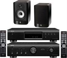 Denon DCD-520 + PMA-520 + Boston Acoustics A25