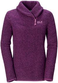 Jack Wolfskin Bluza polarowa MILTON PULLOVER WOMEN mallow purple