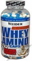 Weider Whey Amino Caps - 280 kaps.