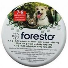 Bayer Foresto Obroża Dla Kotów I Małych Psów < 8Kg