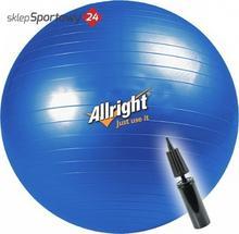 Allright Piłka gimnastyczna śr.85 cm + pompka (niebieska) FIPGDK85