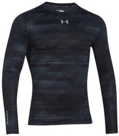 Under ArmourT-shirt Coldgear Printed CoMpression Crew (1265654-001)