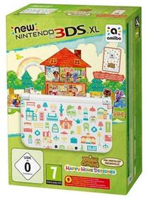 Nintendo New 3DS XL Biały +Animal Crossing HHD +Karty