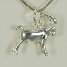 Srebrny znak zodiaku KOZIOROŻEC (Koziorożec SH 1.8 g)