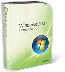 Microsoft Windows Vista Home Basic 64bit