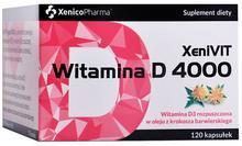 XENICO XENIVIT WITAMINA D 4000 120 kaps. 3213941
