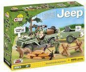 Cobi Small Army KLOCKI Jeep z przyczepą - -24192